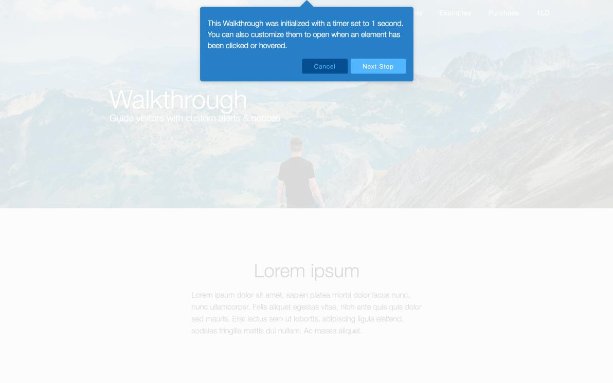 Walkthrough screenshot