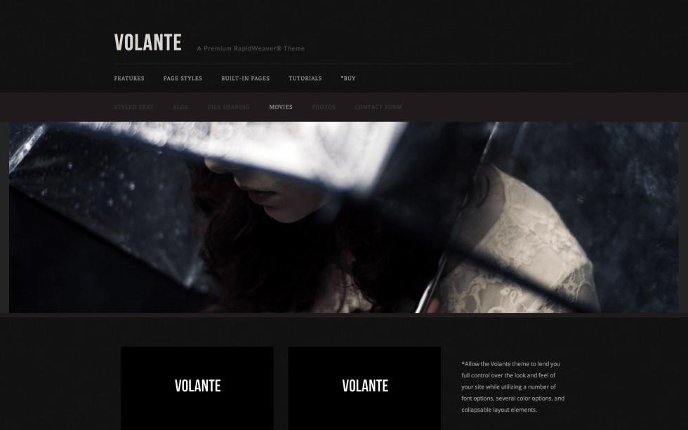 Volante screenshot