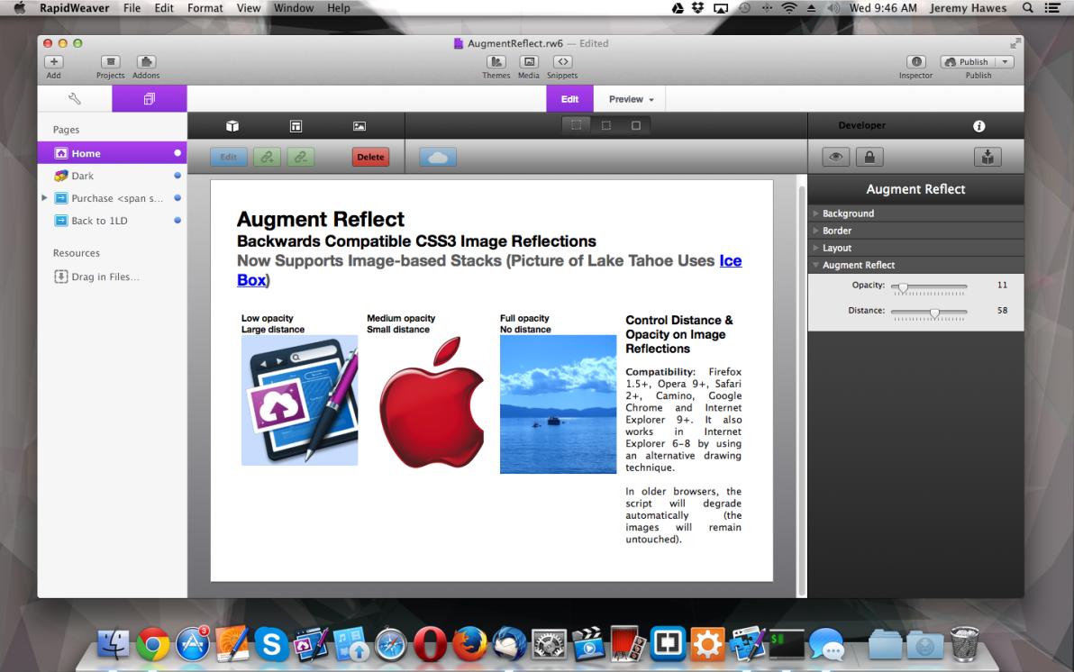 Augment Reflect screenshot