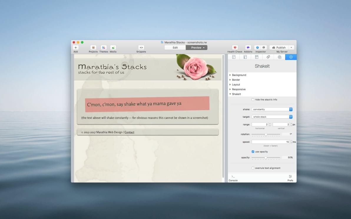 ShakeIt Stack screenshot
