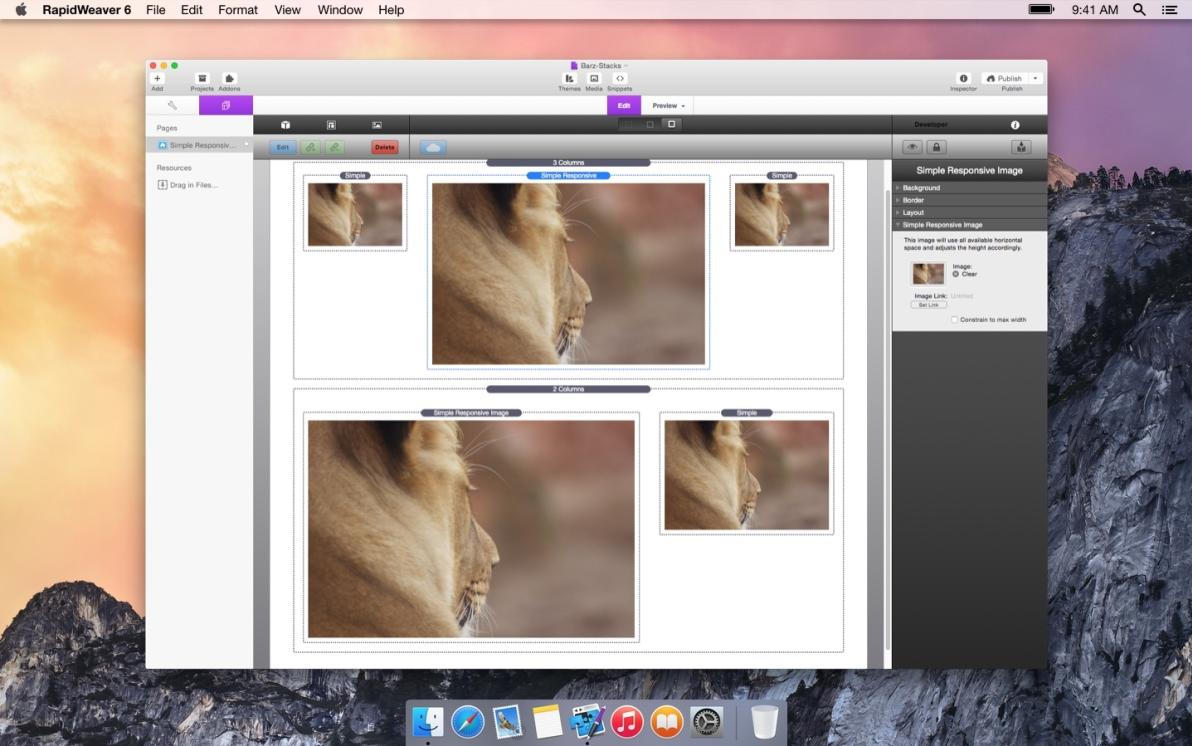 Simple Responsive Image screenshot