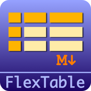 FlexTable Stack icon
