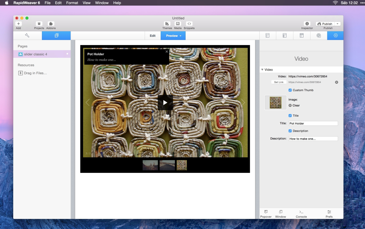 Slider Classic screenshot
