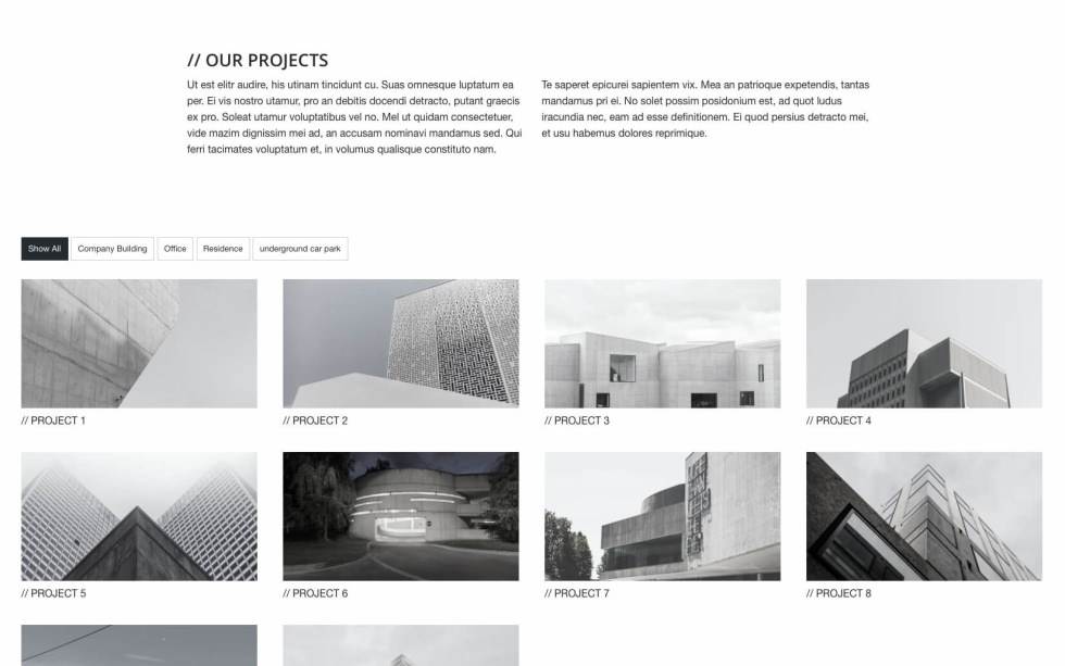 Architect – Foundation Project screenshot