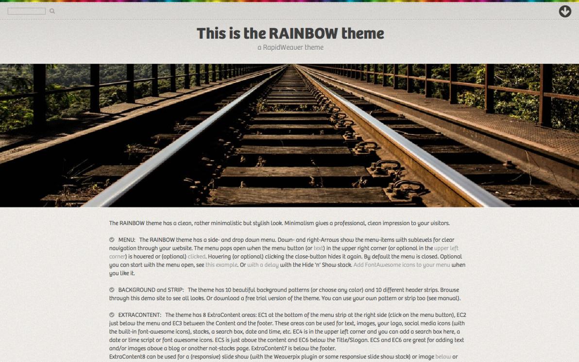 Rainbow screenshot