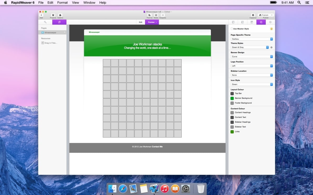 Minesweeper screenshot