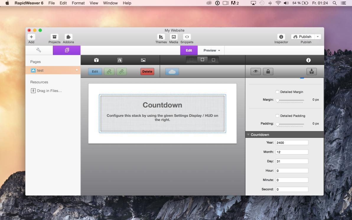 Countdown screenshot