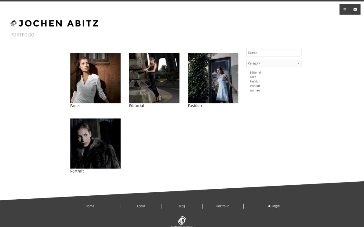 Photostories Fashion screenshot