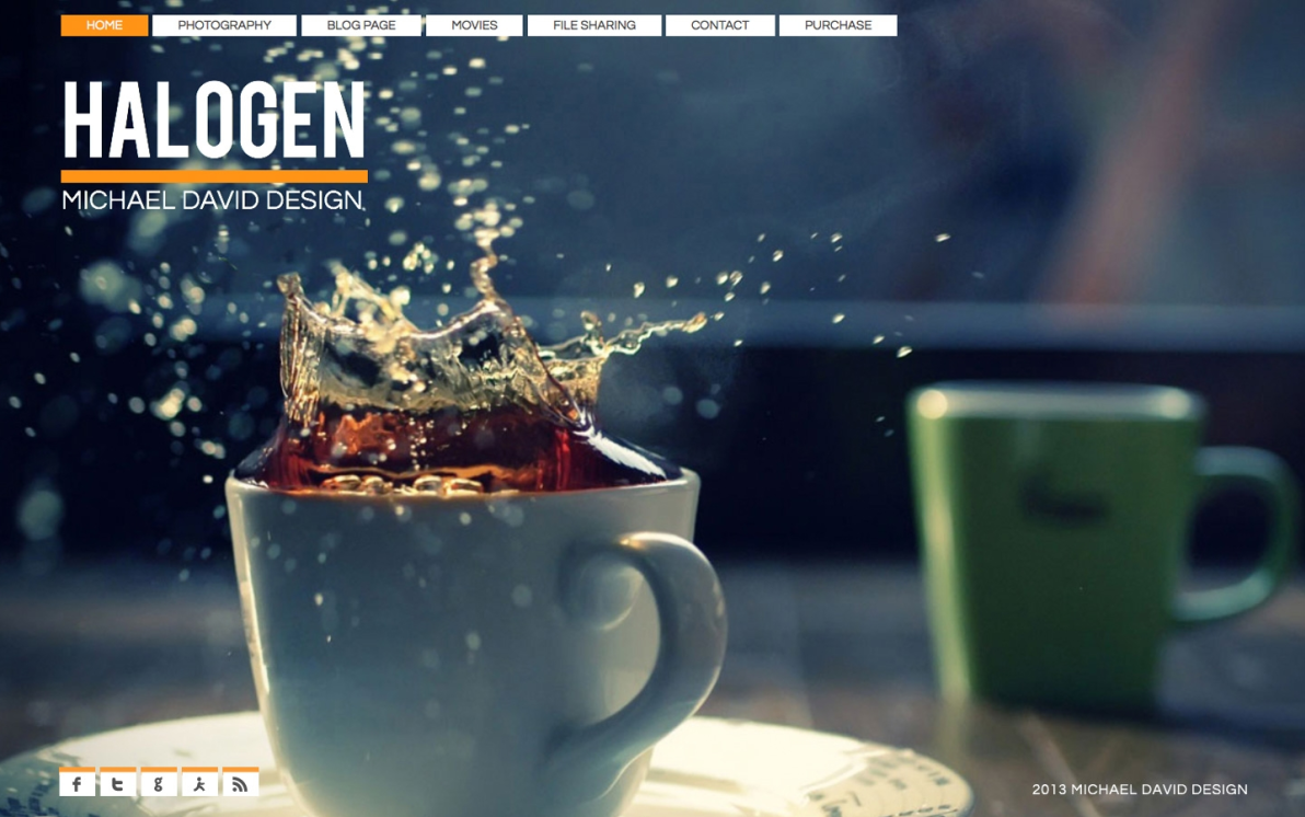 Halogen screenshot