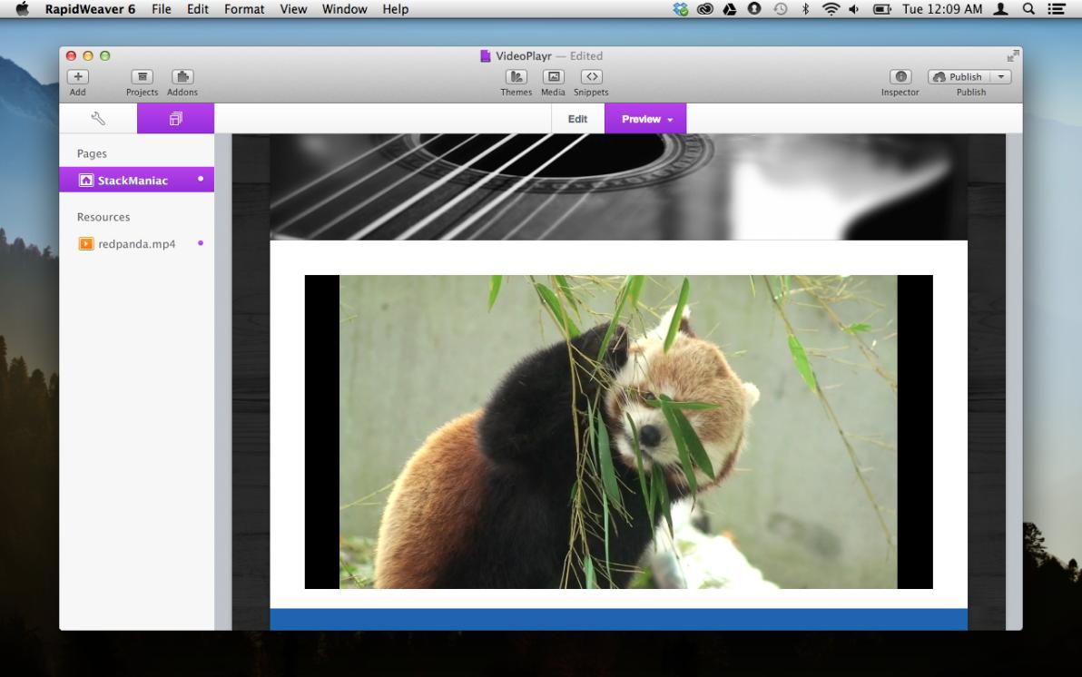 VideoPlayer screenshot