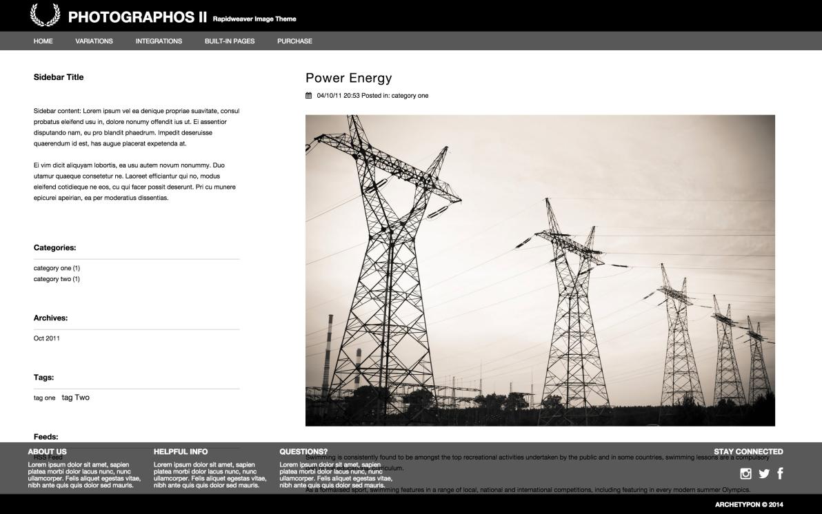Photographos II screenshot