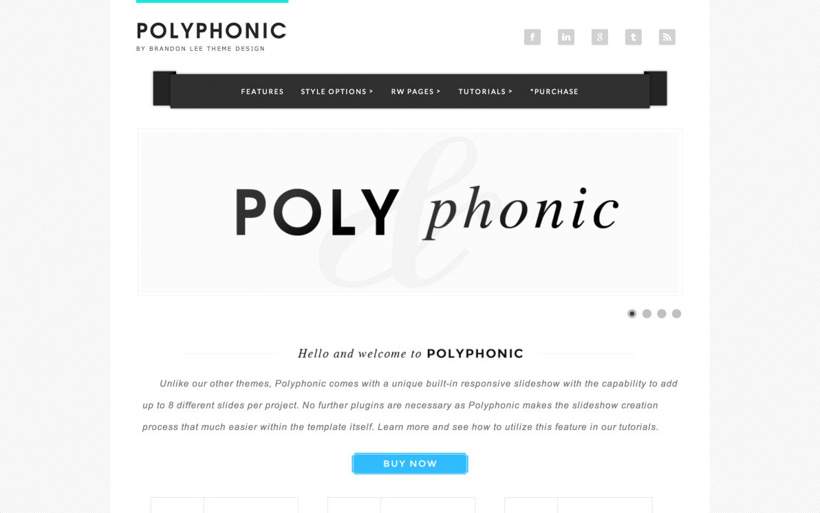 Polyphonic screenshot