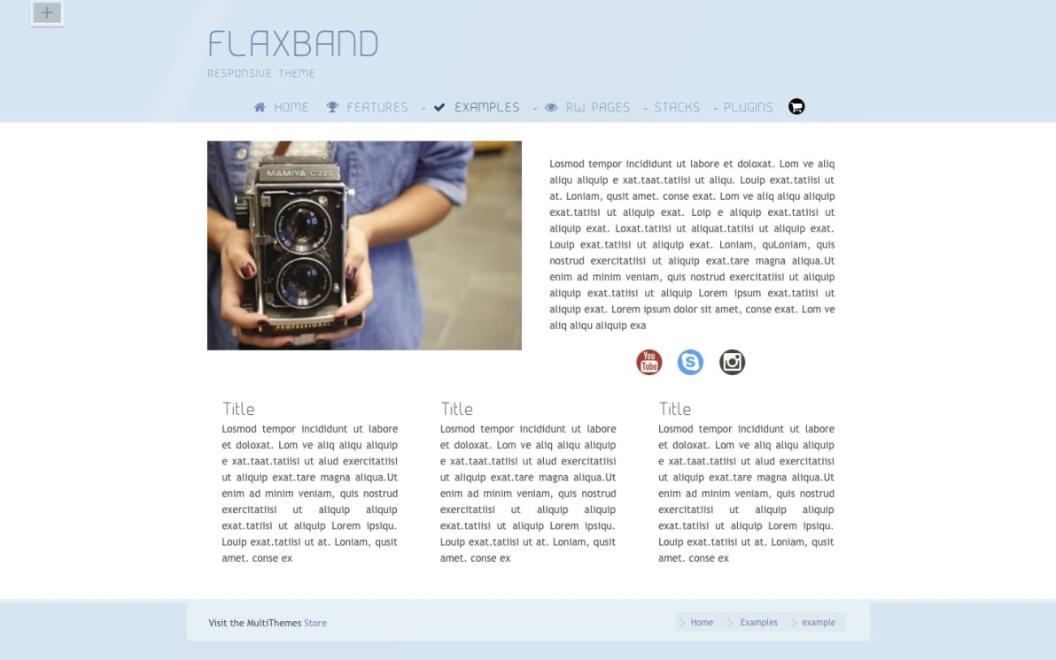 FlexBand screenshot