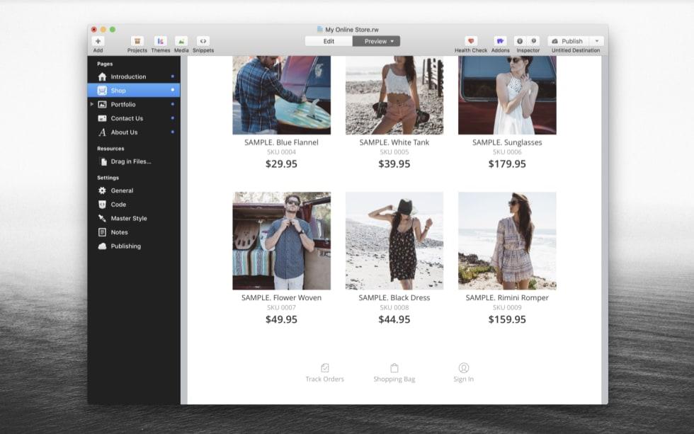 Ecwid Online Store RapidWeaver Plugin by Ecwid — RapidWeaver