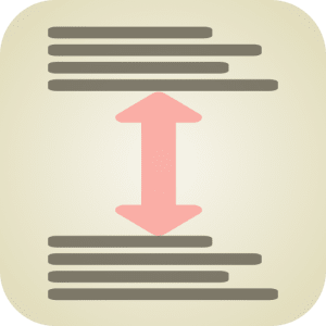 LineBreakHeight Stack icon