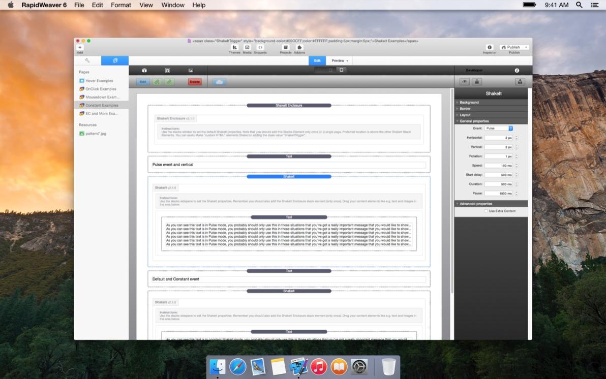 ShakeIt Utility screenshot