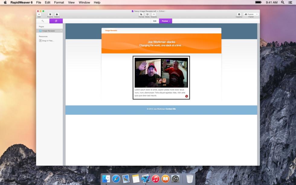 Revealer screenshot