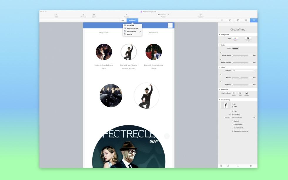 CircularThing screenshot