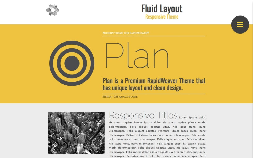 Plan RapidWeaver Theme by Multithemes — RapidWeaver Community
