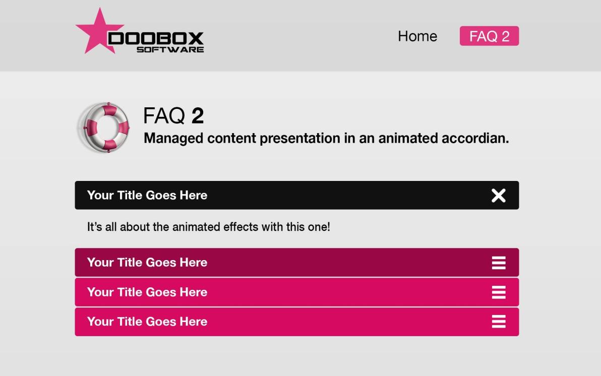 FAQ 2 screenshot