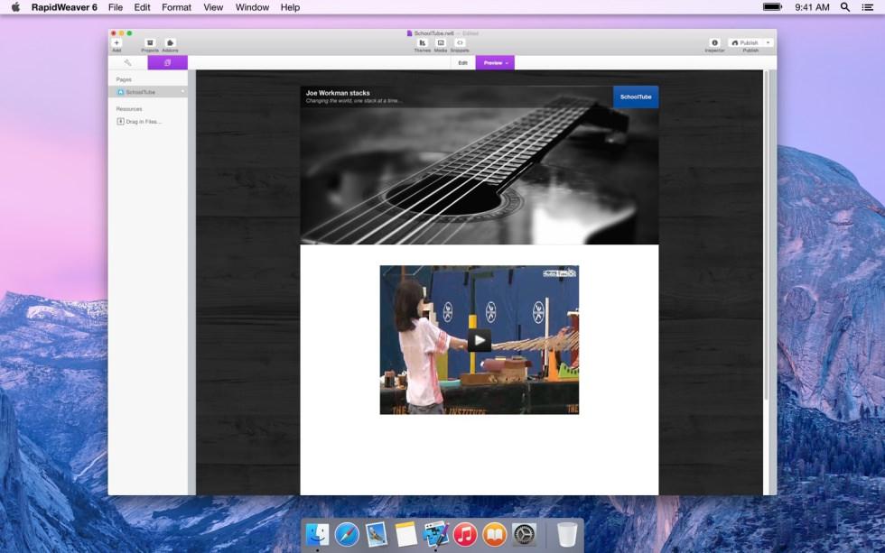 SchoolTube screenshot