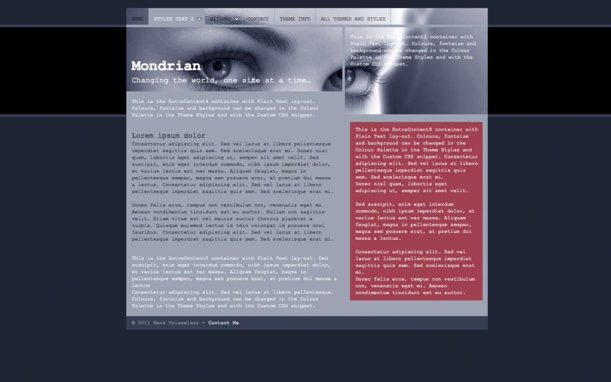 Mondrian screenshot