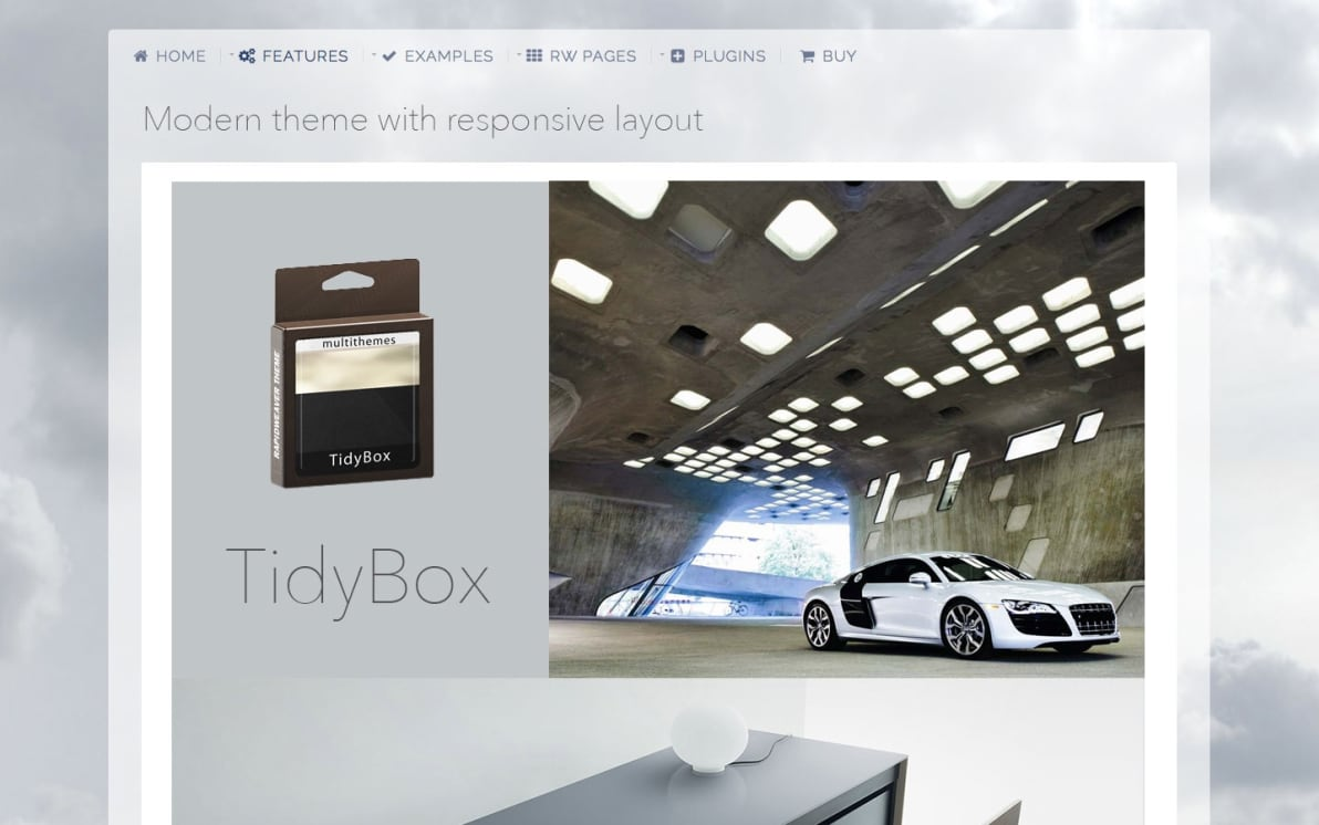 TidyBox screenshot