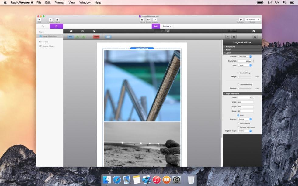 Image SlideShow screenshot