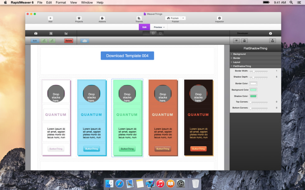 FlatShadowthing screenshot