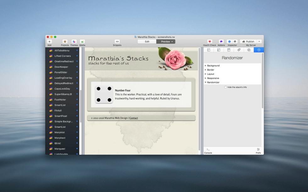 Randomizer Stack screenshot