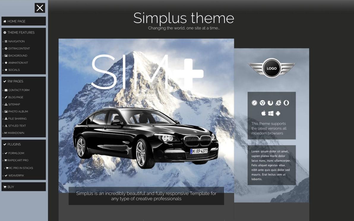 Simplus screenshot