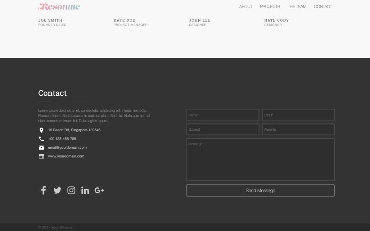 HTML Body screenshot