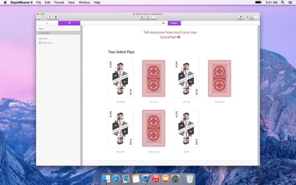 QuickFlip screenshot