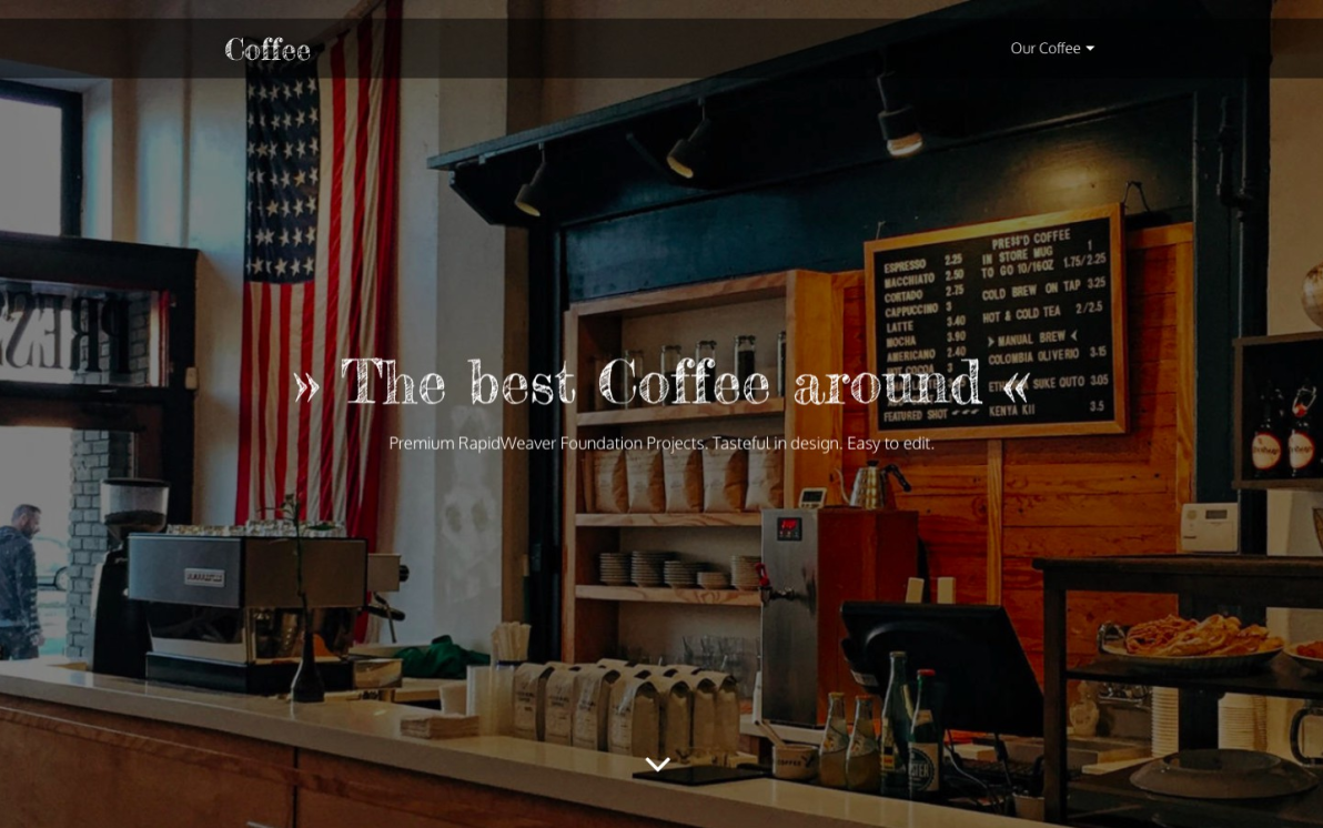 Coffee screenshot