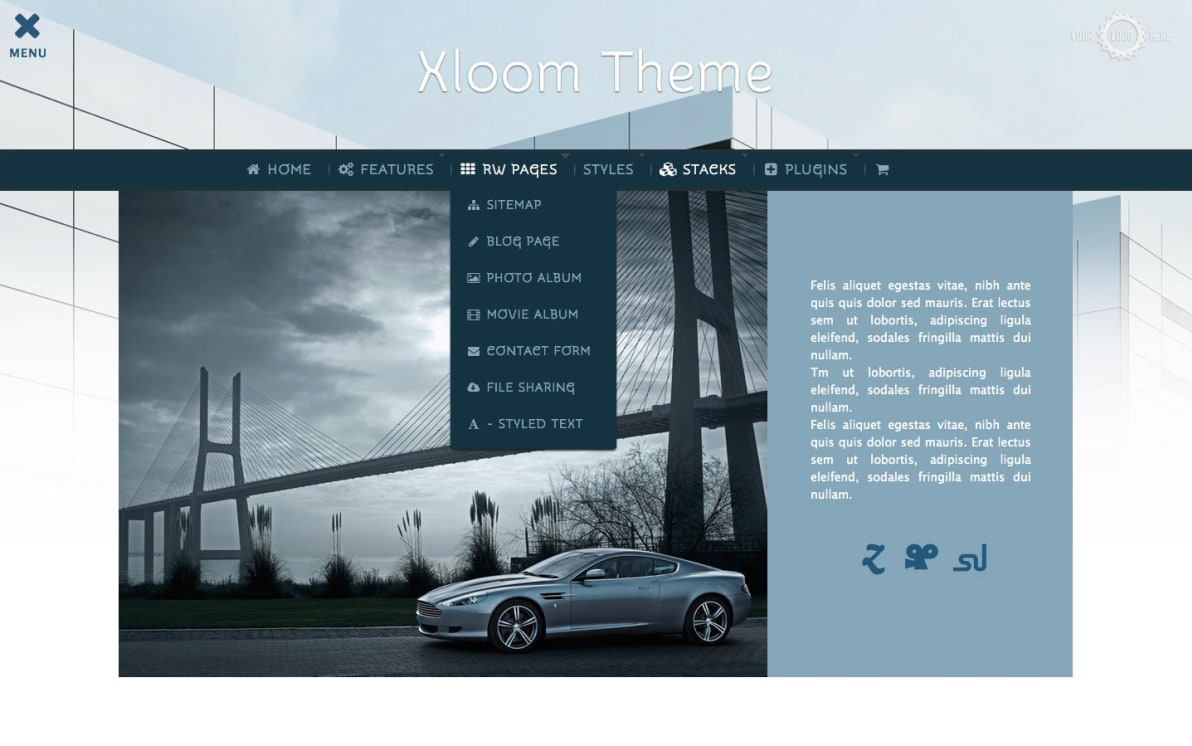 Xloom screenshot