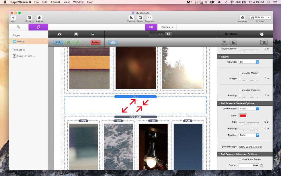 XL screenshot