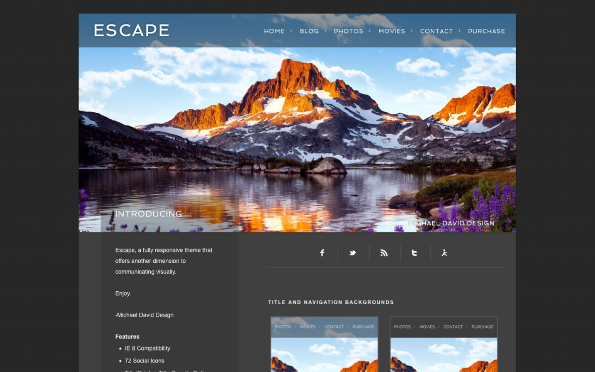 Escape screenshot