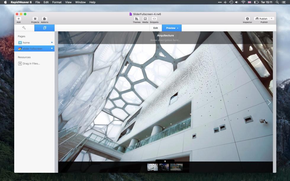 Slider Fullscreen screenshot