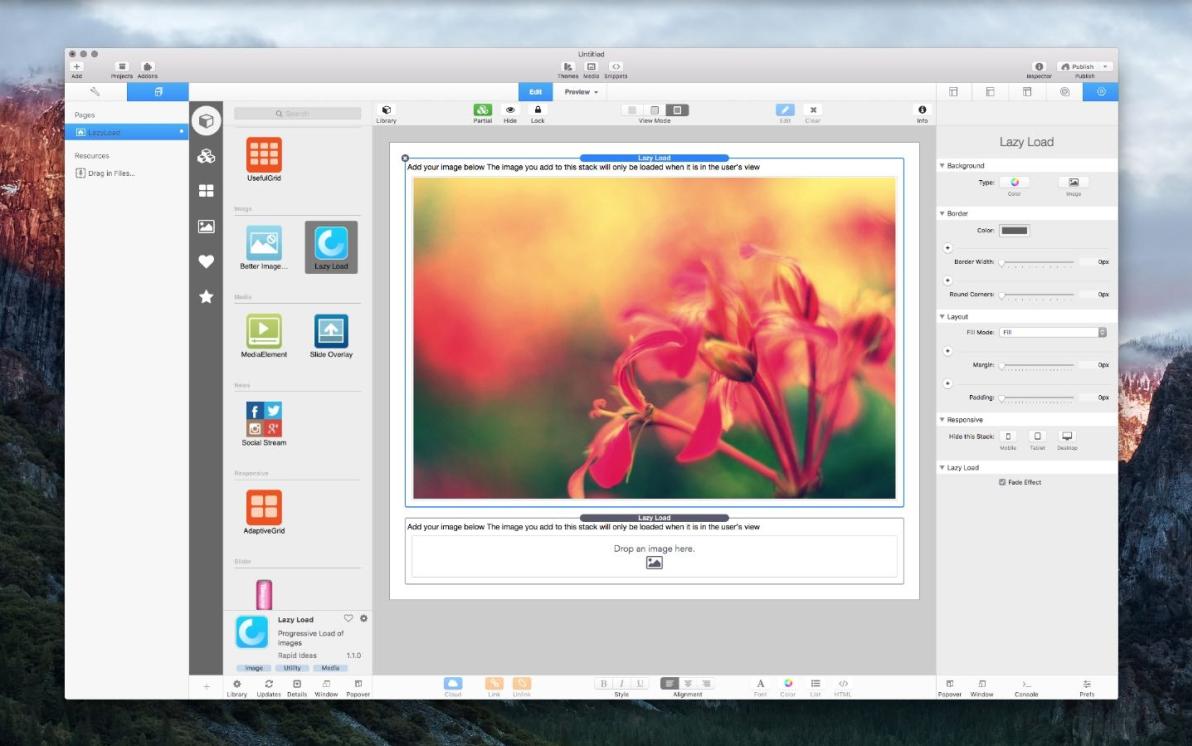 Lazy Load screenshot