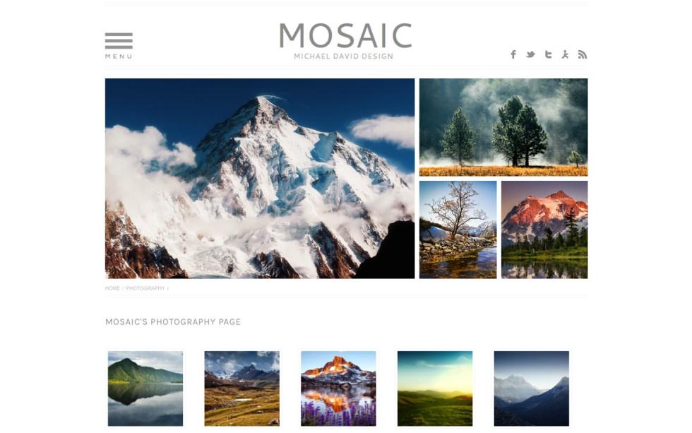 Mosaic screenshot