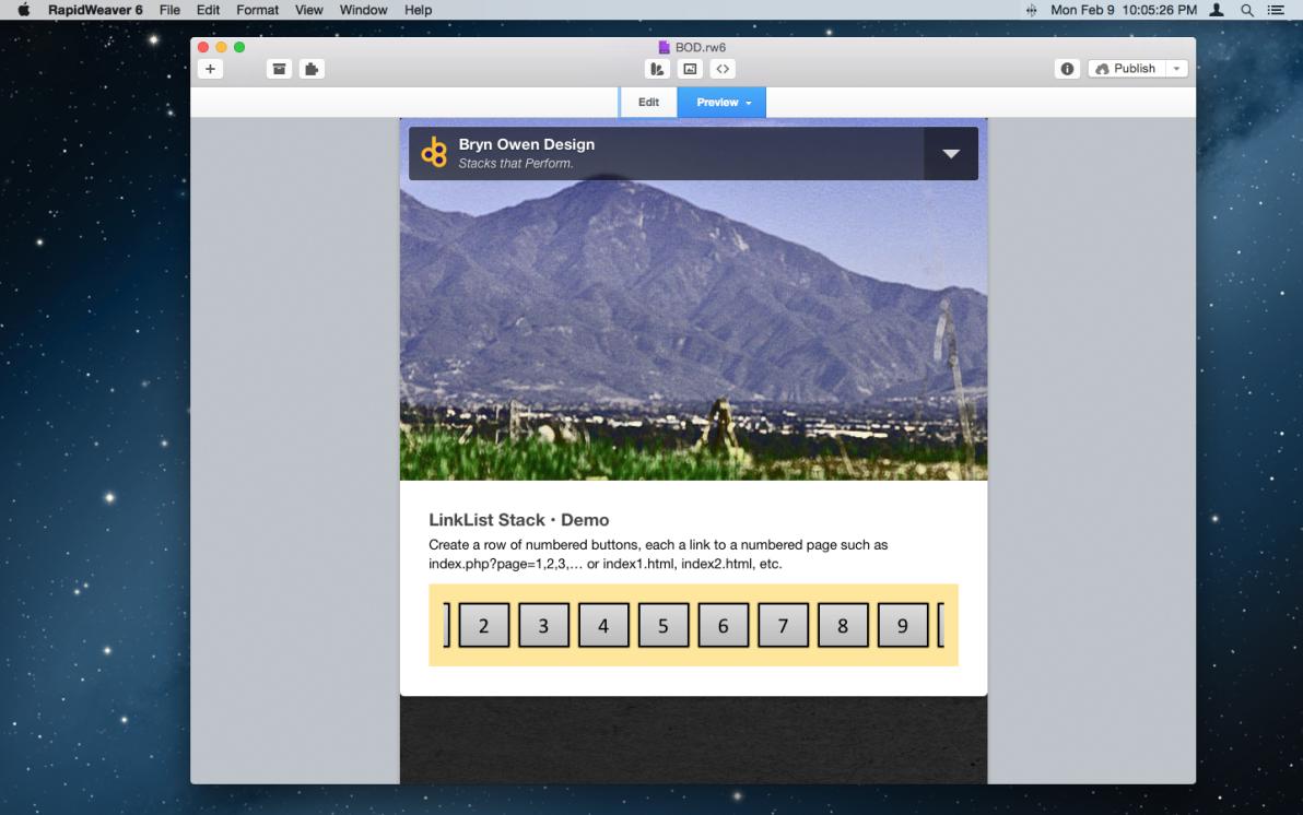 LinkList Stack screenshot