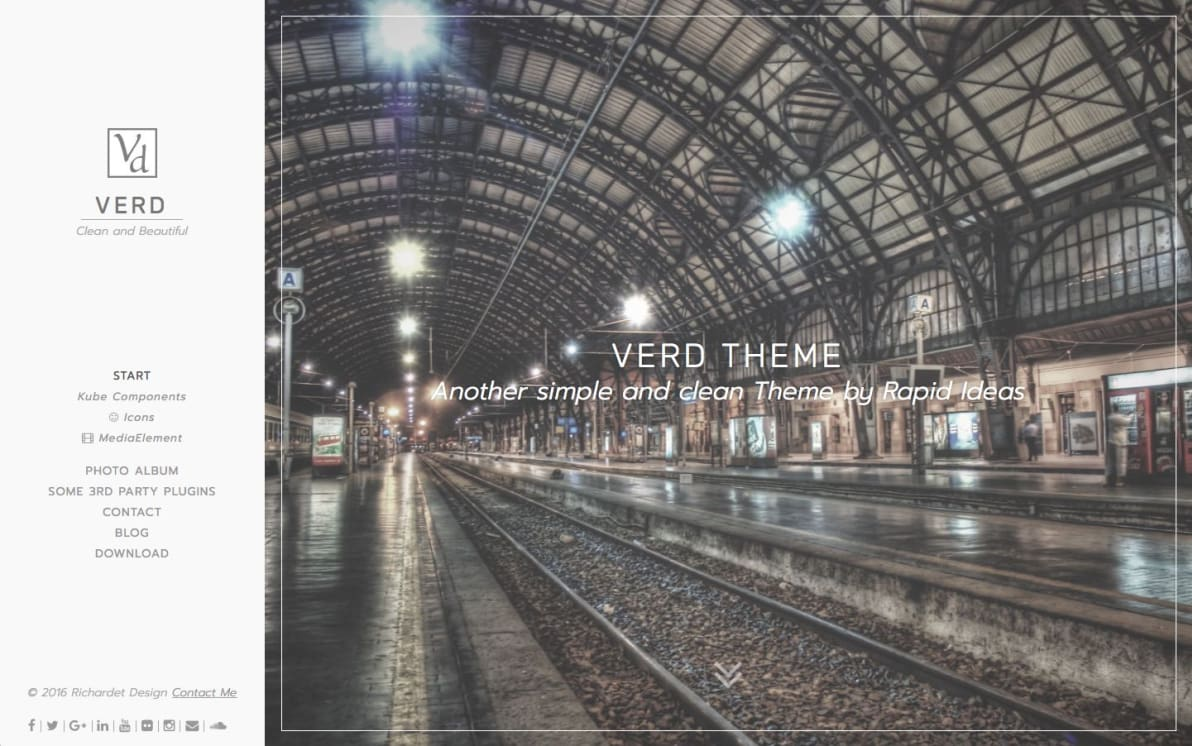 Verd Theme screenshot