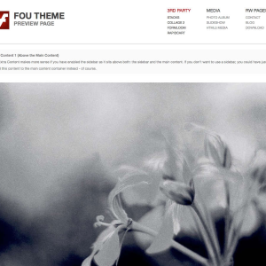FOU Theme icon