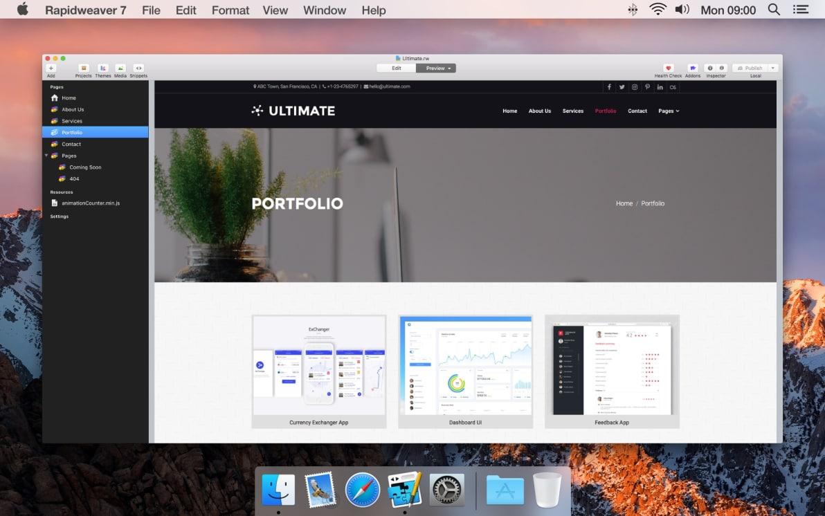 Ultimate screenshot