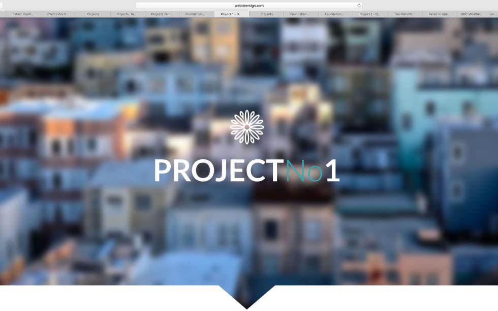 WDS project 1 screenshot
