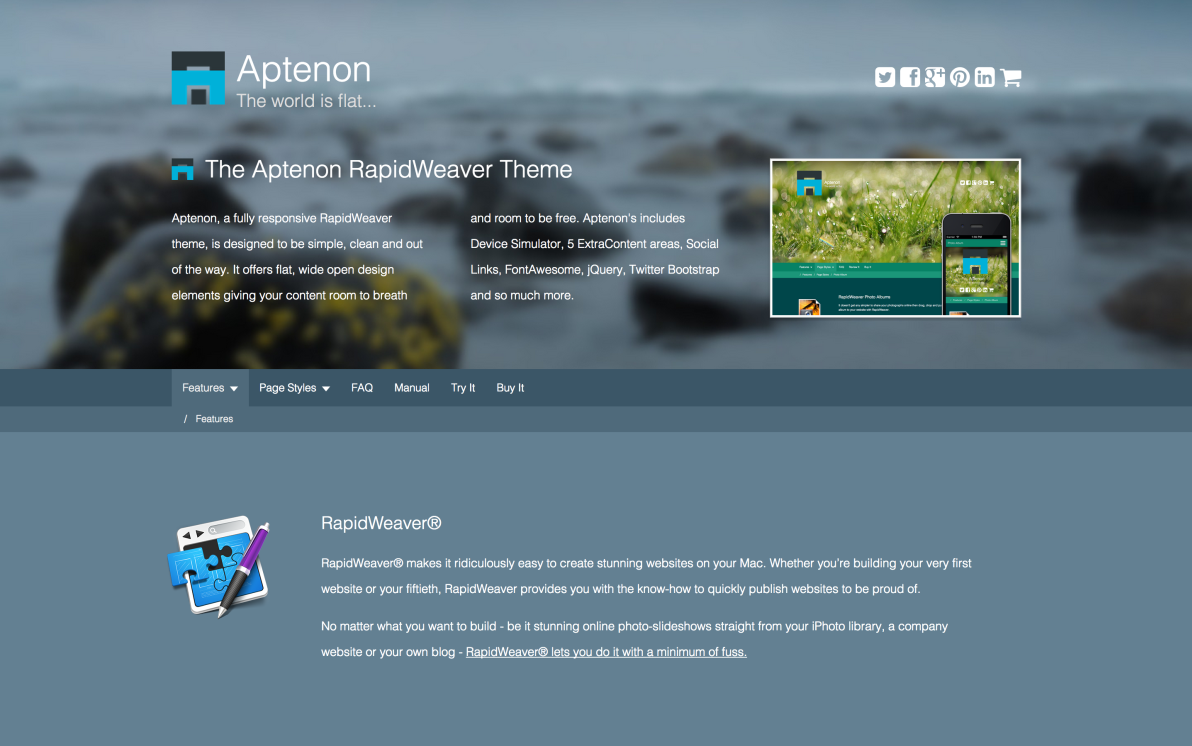 seyDesign Aptenon screenshot