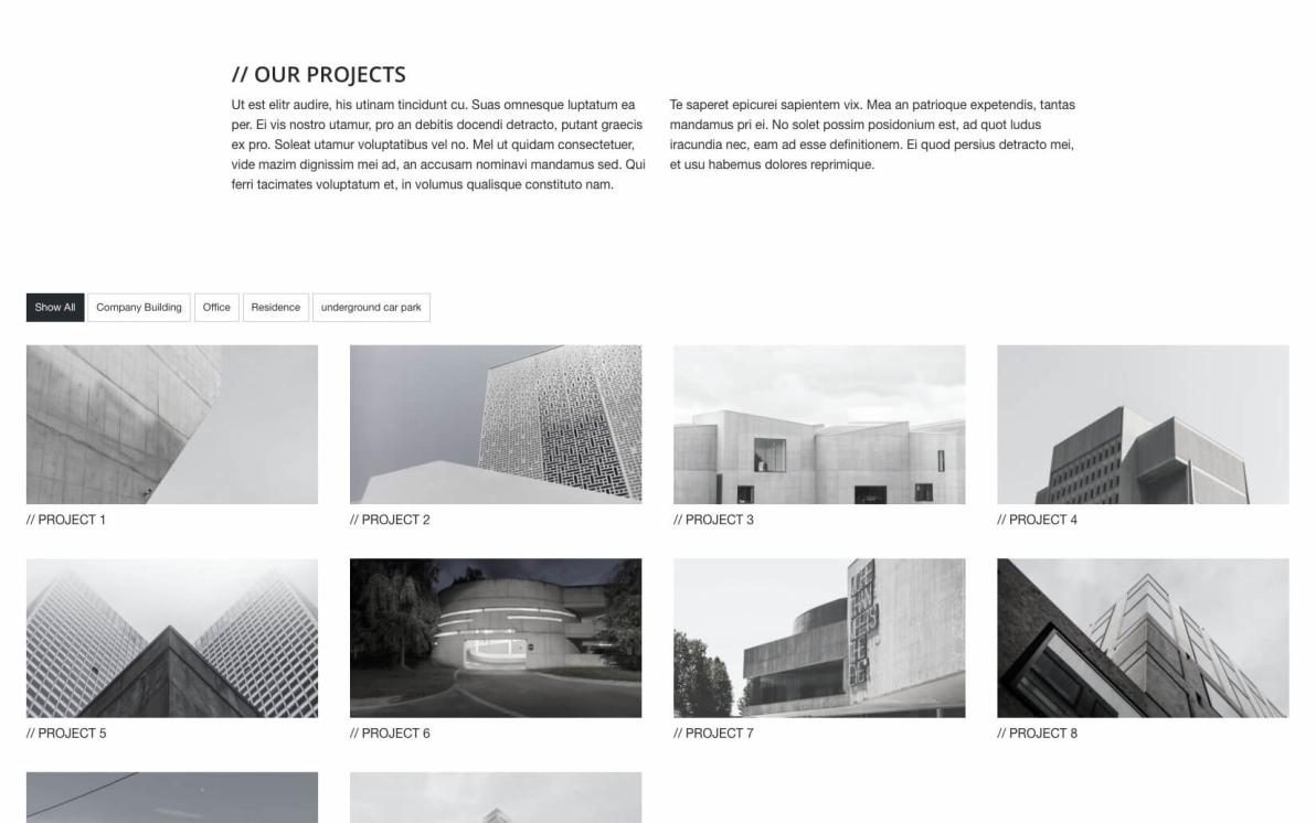 Architect – Foundation Project screenshot