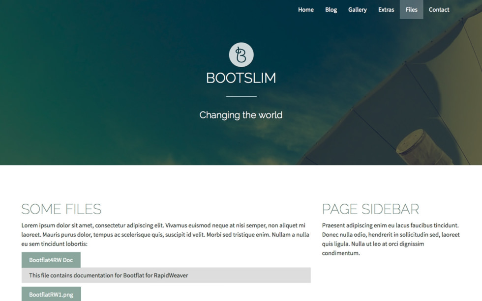 Bootslim screenshot