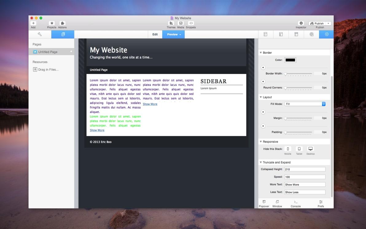 Truncate & Expand screenshot