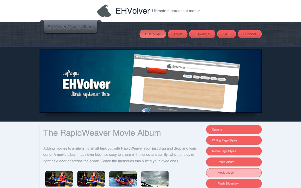 seyDesign EHVolver screenshot